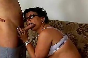 nasty old mom acquires drilled hard !