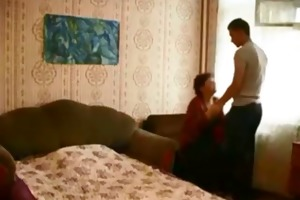 mom drilled by younger chap on hidden webcam
