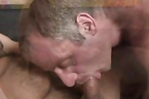 tom colt and christian volt: dad bears sizzling