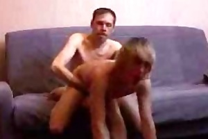 mature homo chap fucks young gay boy on daybed